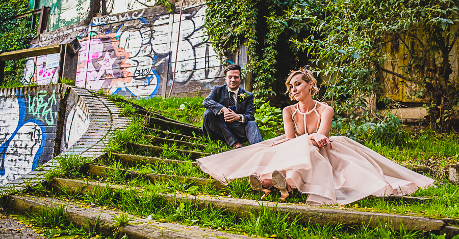Real Wedding in Kensal Green, London captured by Damien Vickers Photography
