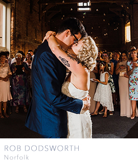 Norfolk wedding photographer Rob Dodsworth