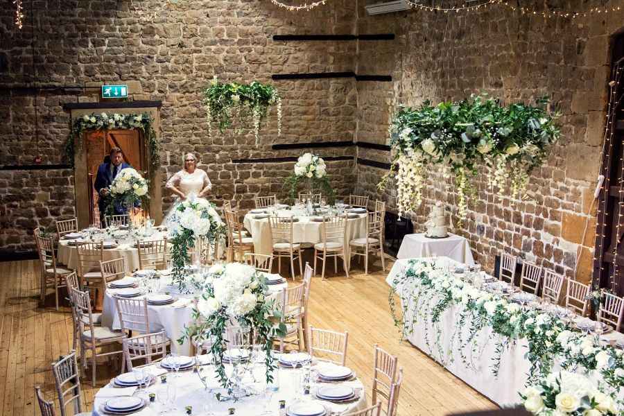 Rustic Barn real wedding in Cotswolds photography by Angela Paul