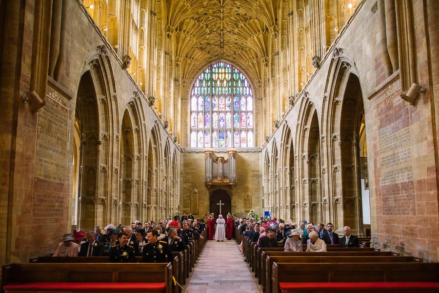 Richard & Ruth's military black tie wedding at Sherborne Abbey, with Nisha Haq Photography (14)