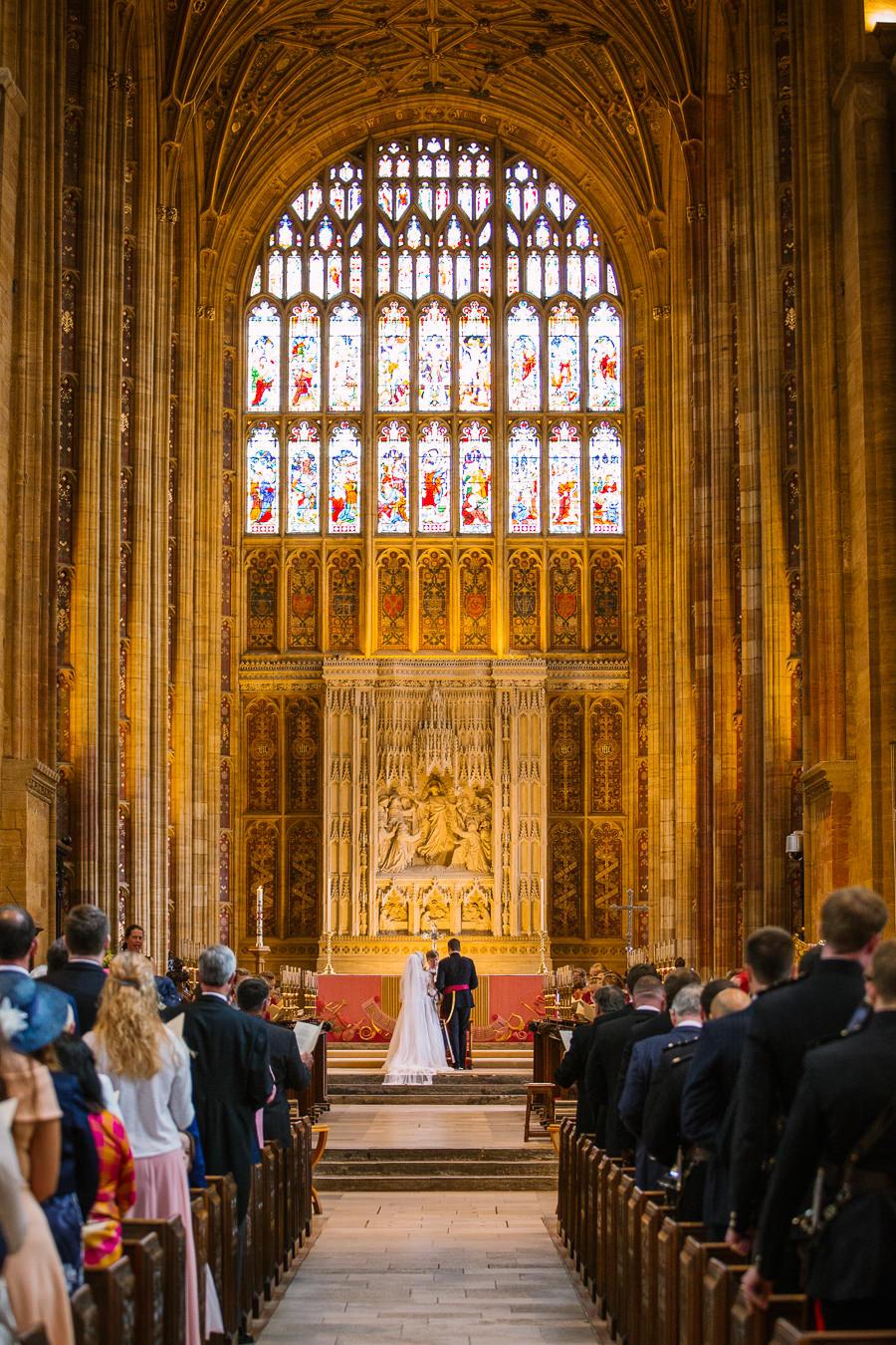 Richard & Ruth's military black tie wedding at Sherborne Abbey, with Nisha Haq Photography (17)