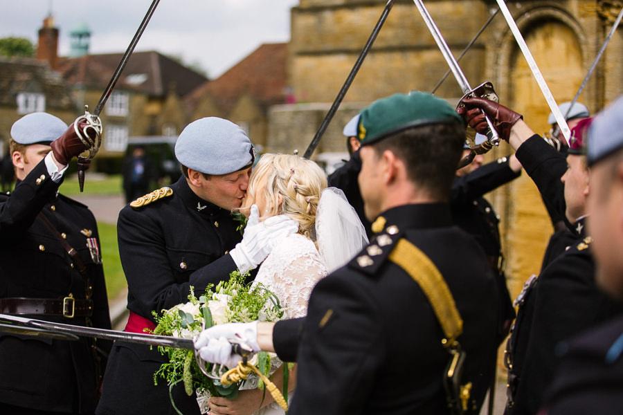 Richard & Ruth's military black tie wedding at Sherborne Abbey, with Nisha Haq Photography (20)