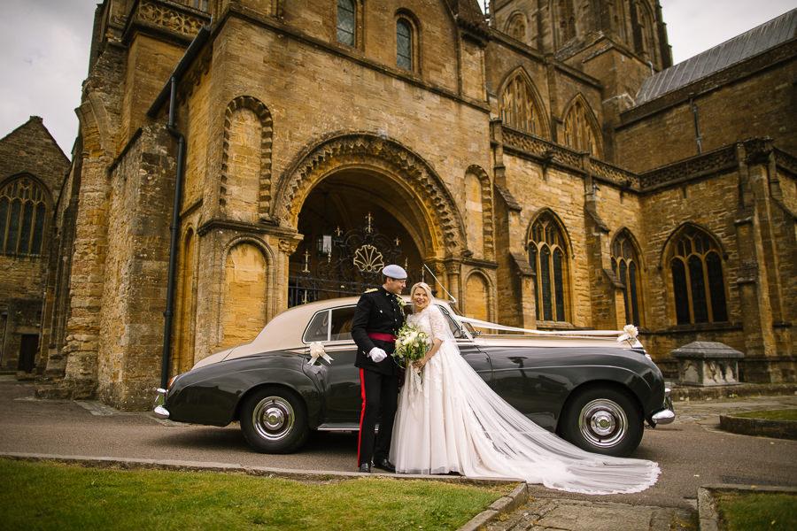 Richard & Ruth's military black tie wedding at Sherborne Abbey, with Nisha Haq Photography (23)