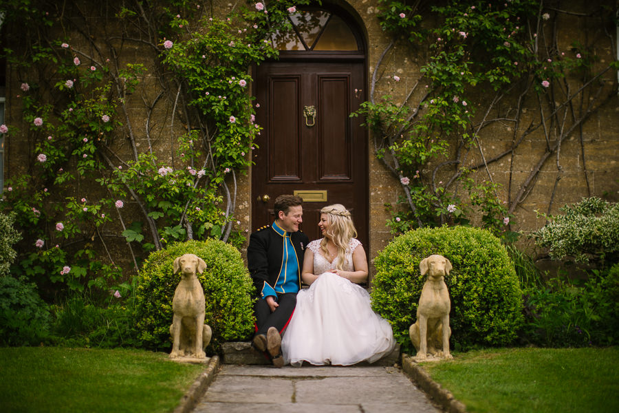 Richard & Ruth's military black tie wedding at Sherborne Abbey, with Nisha Haq Photography (34)