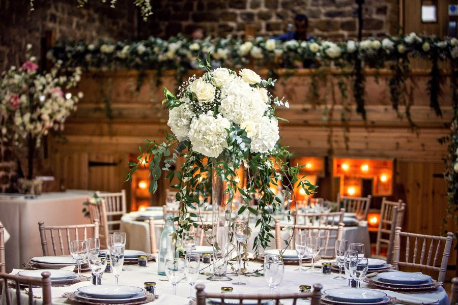Table set up by Martina Paul Cotswolds Wedding planner photography Angela Paul