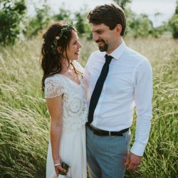 Lizzie & Eddy's beautiful Temple of Minerva and Farm Camp wedding, with Simon Biffen Photography
