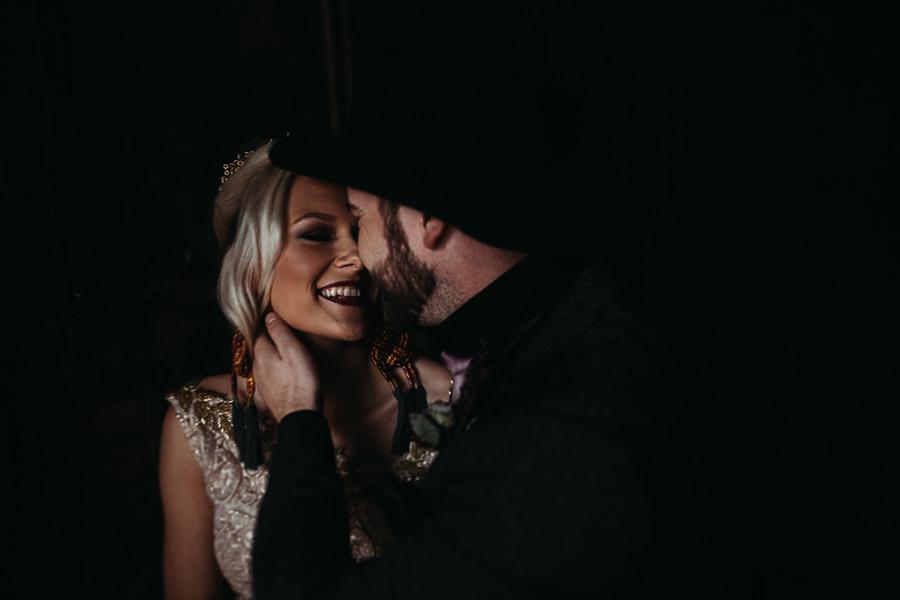 Sustainable and beautiful halloween wedding style, image credit Thyme Lane Photography (27)
