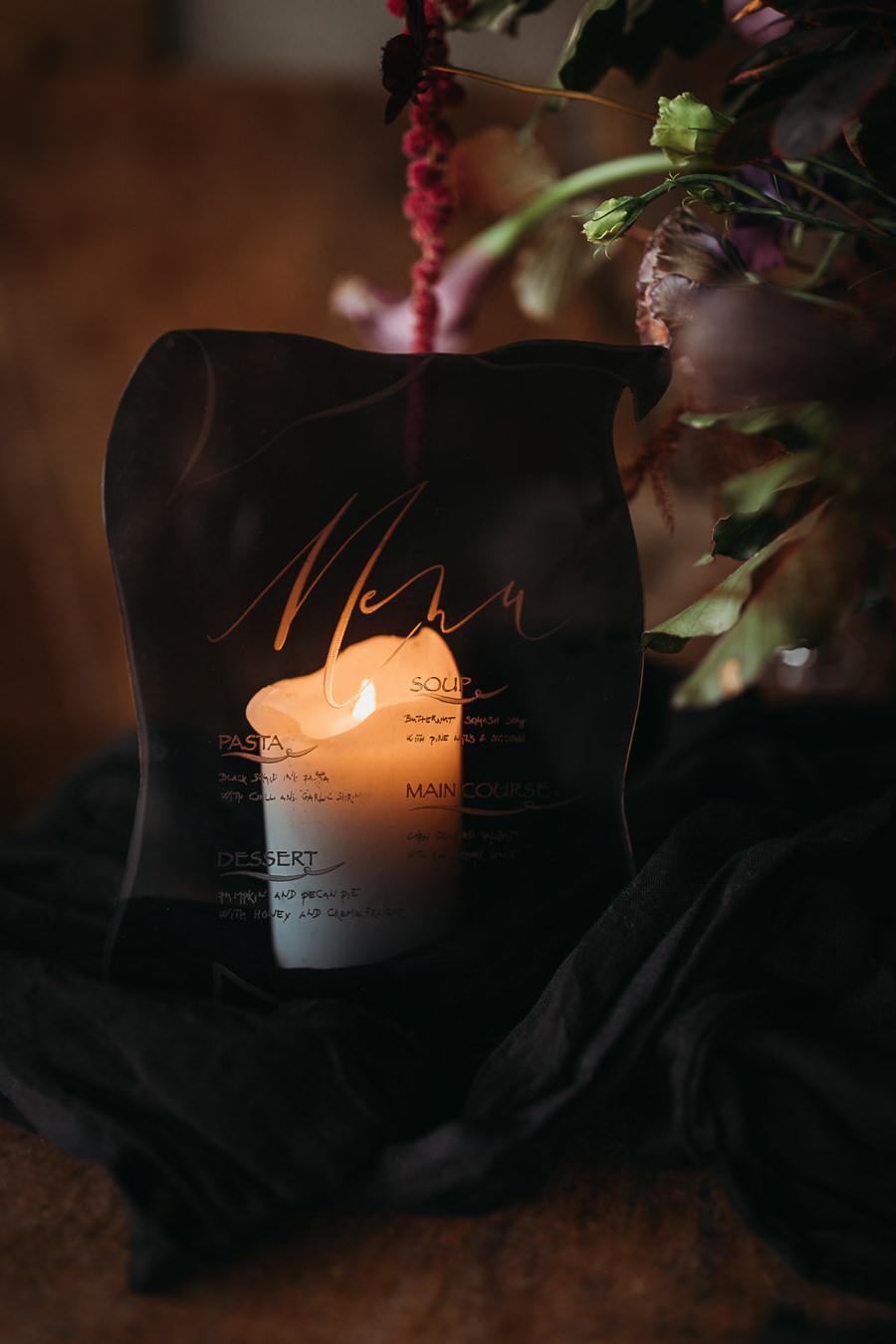 Sustainable and beautiful halloween wedding style, image credit Thyme Lane Photography (38)