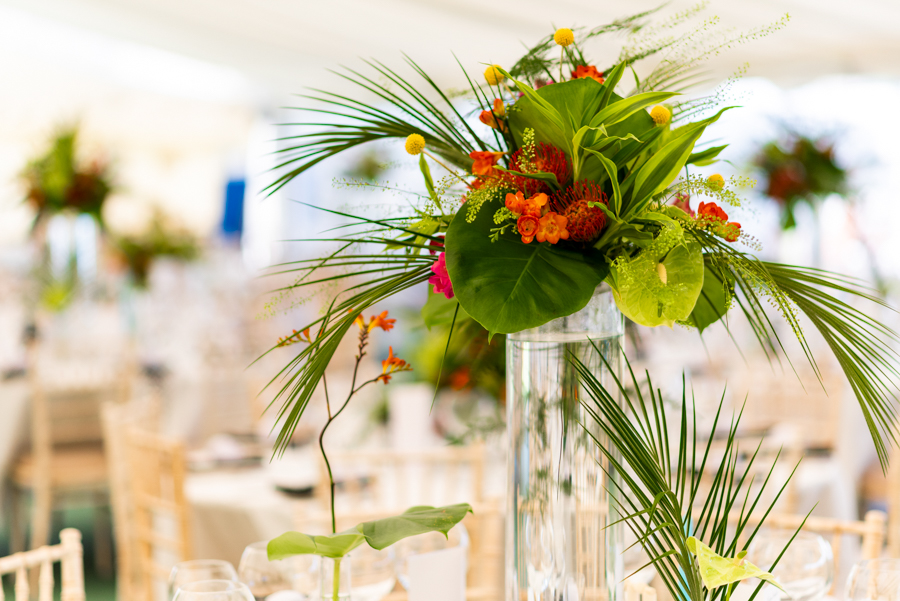 Alex & Peter's Derbyshire wedding with a tropical twist, with Pudding and Plum Photography (11)
