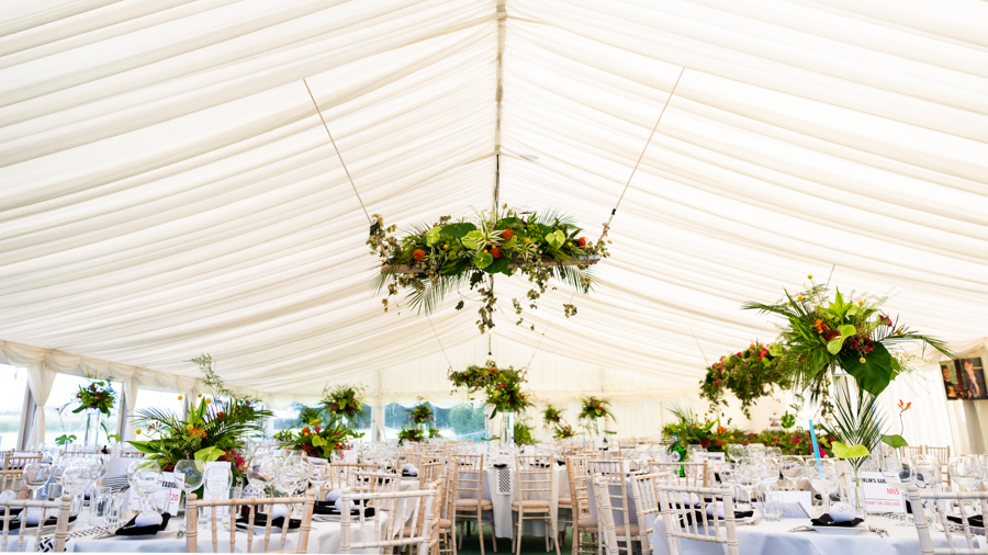 Alex & Peter's Derbyshire wedding with a tropical twist, with Pudding and Plum Photography (3)