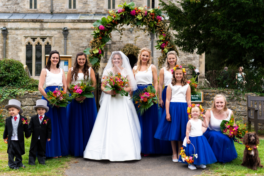Alex & Peter's Derbyshire wedding with a tropical twist, with Pudding and Plum Photography (23)