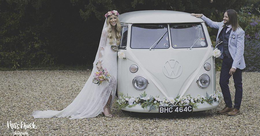 Kent wedding camper vans for hire