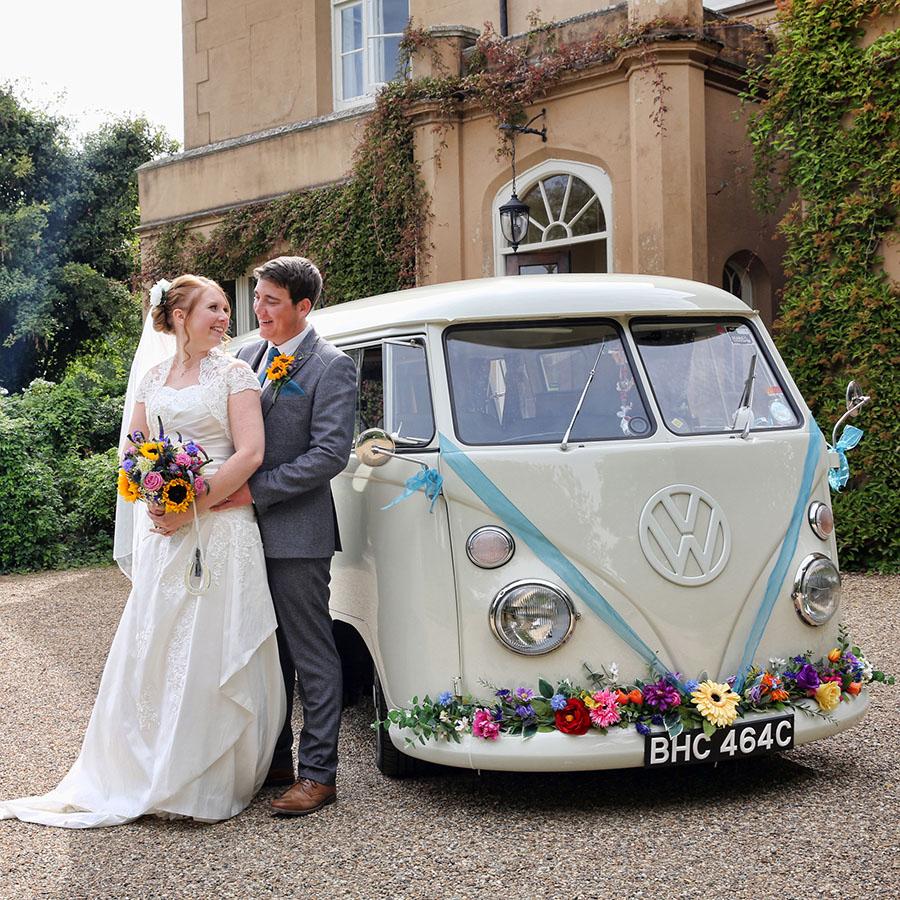 The White Van Wedding Company camper van hire Kent