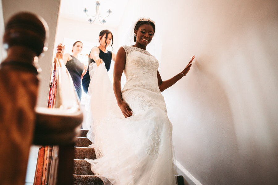 Oreofe & Craig's chic and modern Manchester city wedding, with Rachel Clarke Wedding Photography (12)