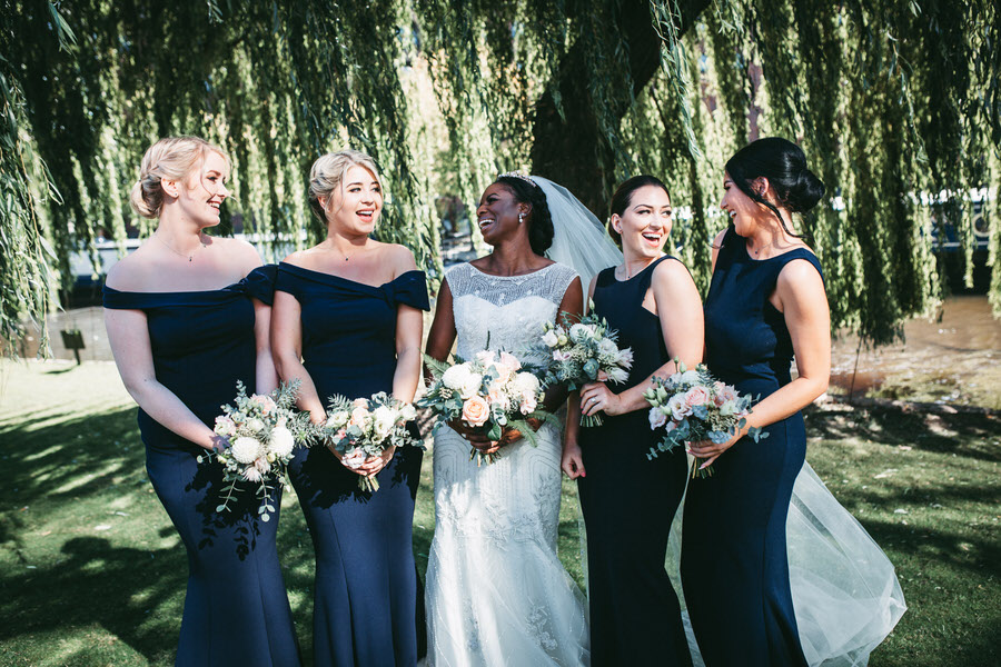 Oreofe & Craig's chic and modern Manchester city wedding, with Rachel Clarke Wedding Photography (22)