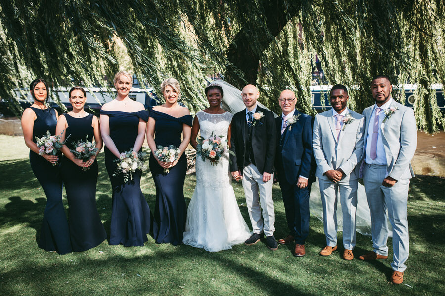 Oreofe & Craig's chic and modern Manchester city wedding, with Rachel Clarke Wedding Photography (23)