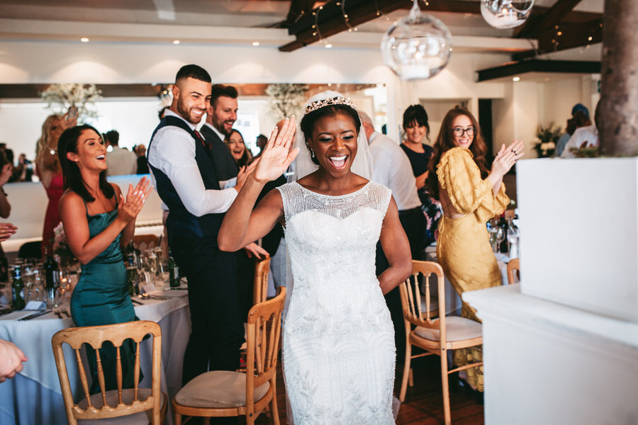 Oreofe & Craig's chic and modern Manchester city wedding, with Rachel Clarke Wedding Photography (34)