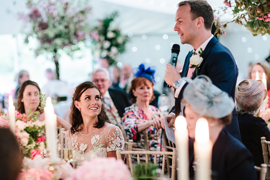 Incredible florals for Maryanne & Adam's beautiful Chippenham Park Hall wedding, with images by Nick + Maria (43)