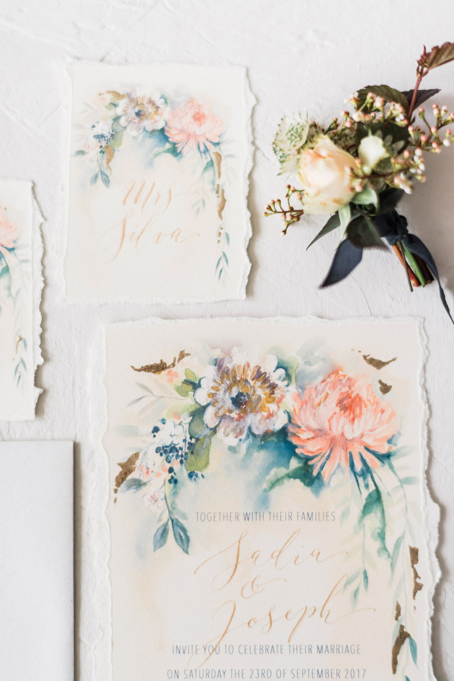 Calligraphy for weddings by Claire Gould, By Moon and Tide Calligraphy UK (2)