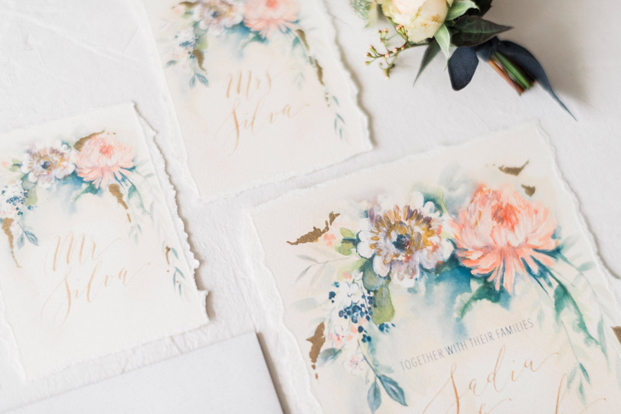 Calligraphy for weddings by Claire Gould, By Moon and Tide Calligraphy UK (1)