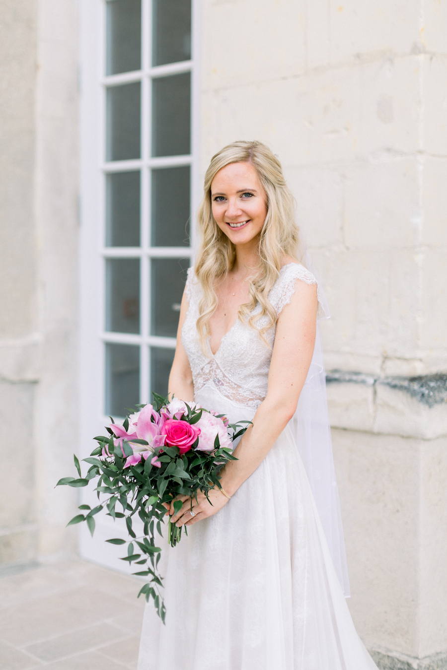 Francine & Jamie's classic and timeless Loire Valley wedding, with Hannah K Photography (26)