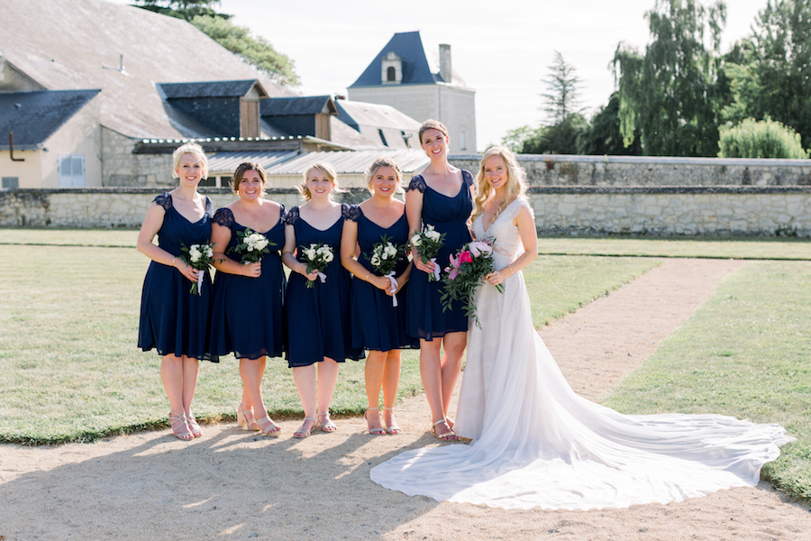 Francine & Jamie's classic and timeless Loire Valley wedding, with Hannah K Photography (23)