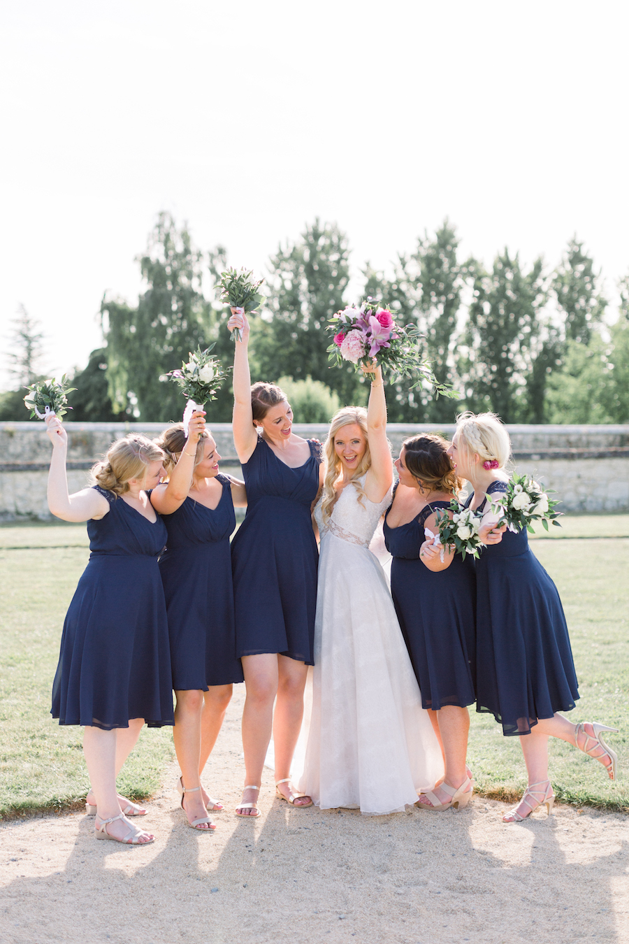 Francine & Jamie's classic and timeless Loire Valley wedding, with Hannah K Photography (30)