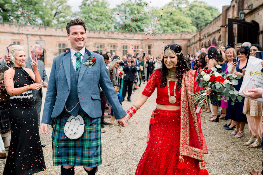 Kiran and Ross's Scottish Indian abbey wedding, with Hannah K Photography (11)
