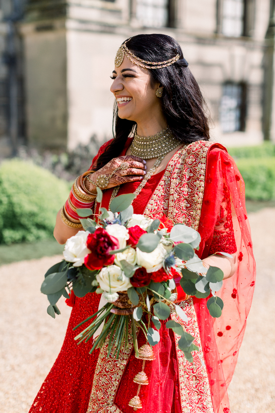 Kiran and Ross's Scottish Indian abbey wedding, with Hannah K Photography (14)