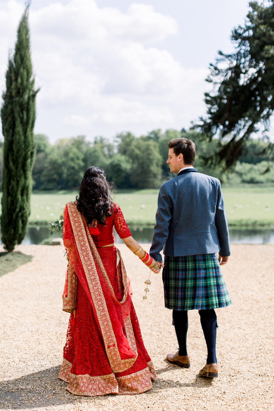 Kiran and Ross's Scottish Indian abbey wedding, with Hannah K Photography (16)