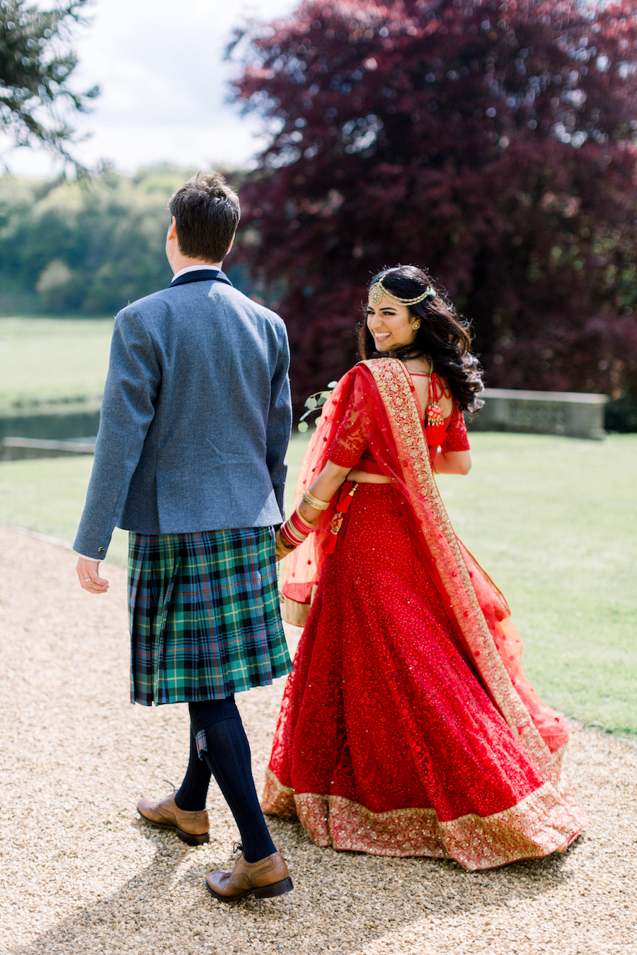 Kiran and Ross's Scottish Indian abbey wedding, with Hannah K Photography (17)