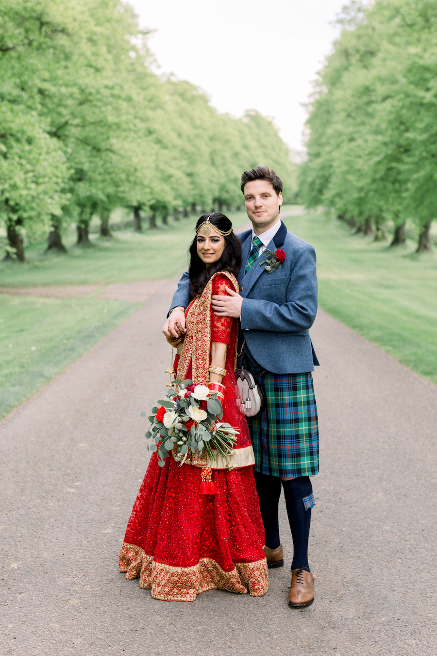 Kiran and Ross's Scottish Indian abbey wedding, with Hannah K Photography (20)