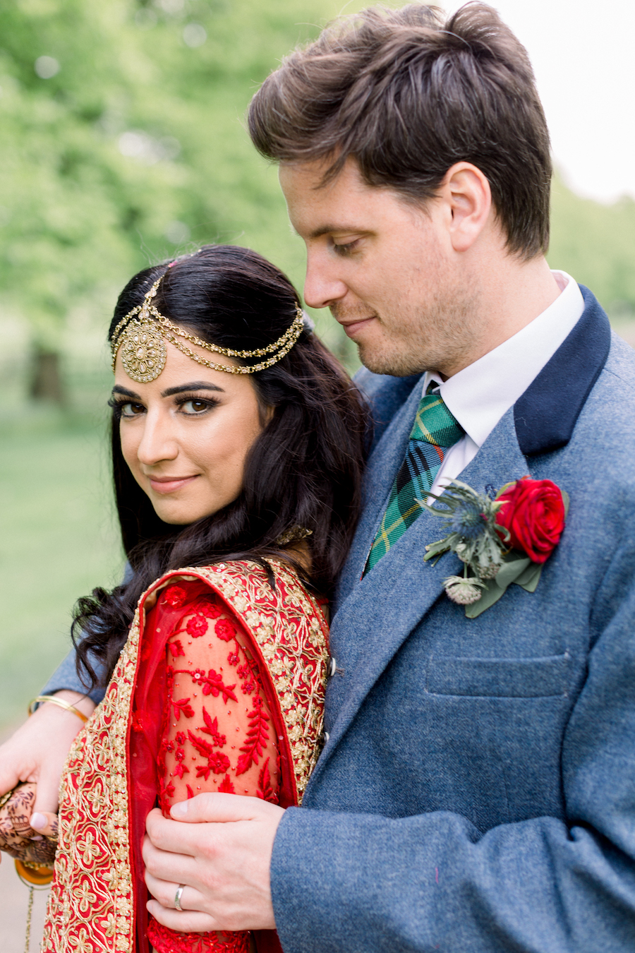 Kiran and Ross's Scottish Indian abbey wedding, with Hannah K Photography (22)