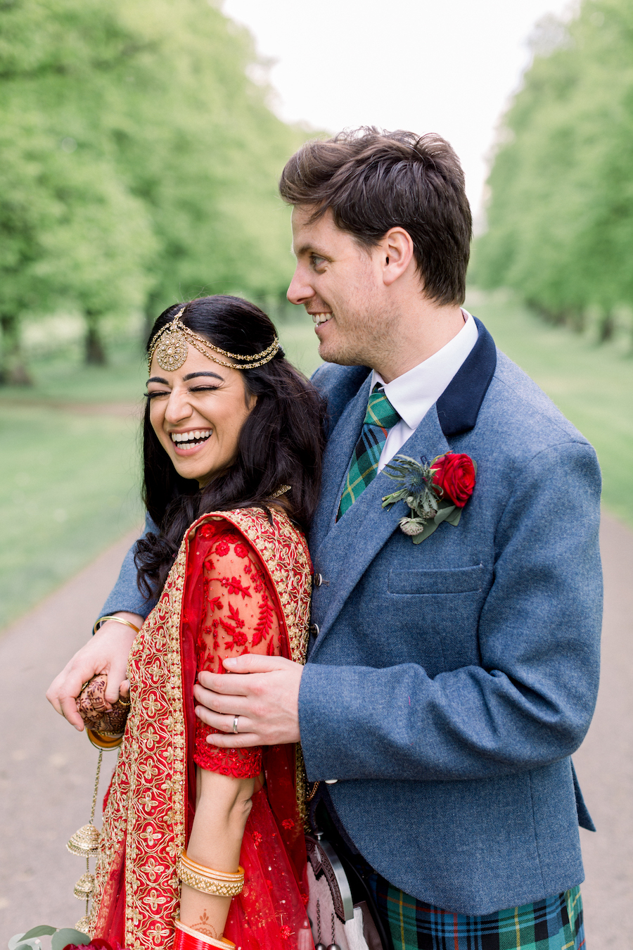 Kiran and Ross's Scottish Indian abbey wedding, with Hannah K Photography (23)
