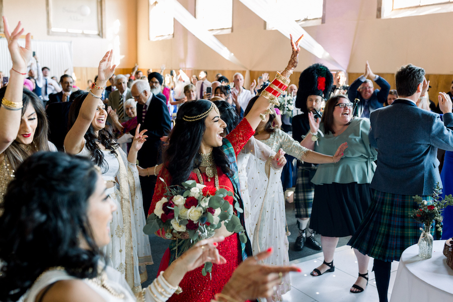 Kiran and Ross's Scottish Indian abbey wedding, with Hannah K Photography (26)