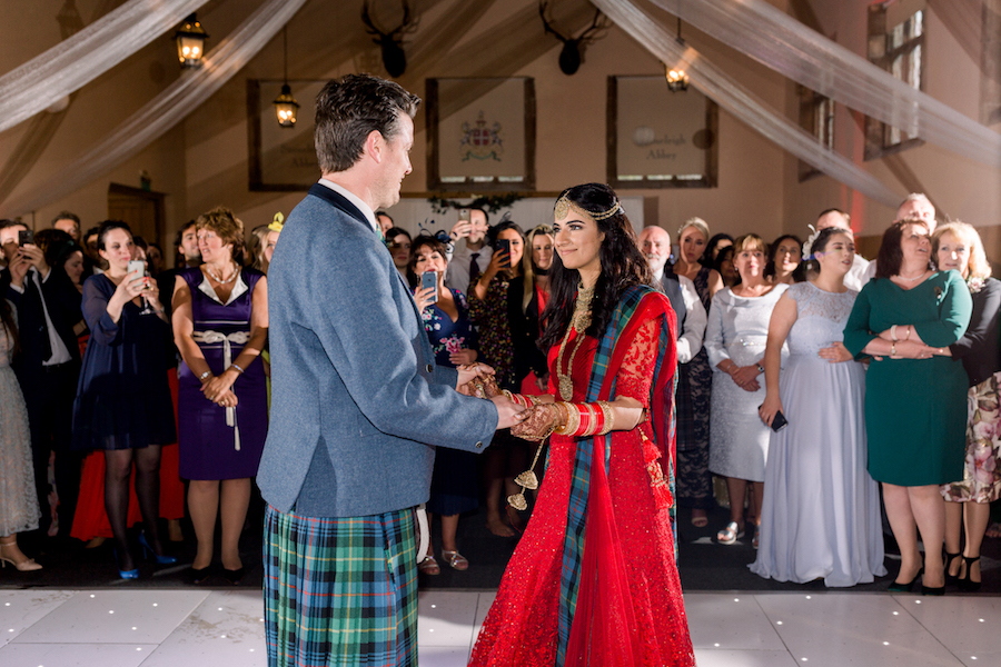 Kiran and Ross's Scottish Indian abbey wedding, with Hannah K Photography (29)