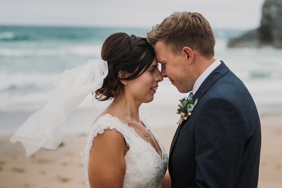 Laura & Craig's lovely English wedding at Lusty Glaze, with Alexa Poppe Photography (26)