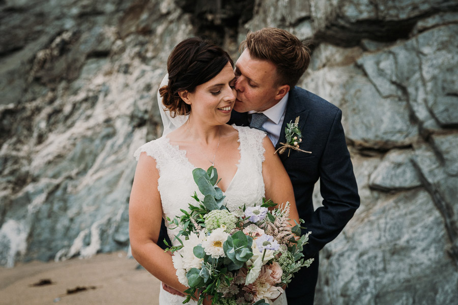 Laura & Craig's lovely English wedding at Lusty Glaze, with Alexa Poppe Photography (21)