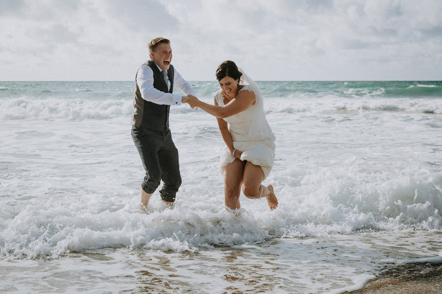 Laura & Craig's lovely English wedding at Lusty Glaze, with Alexa Poppe Photography (12)