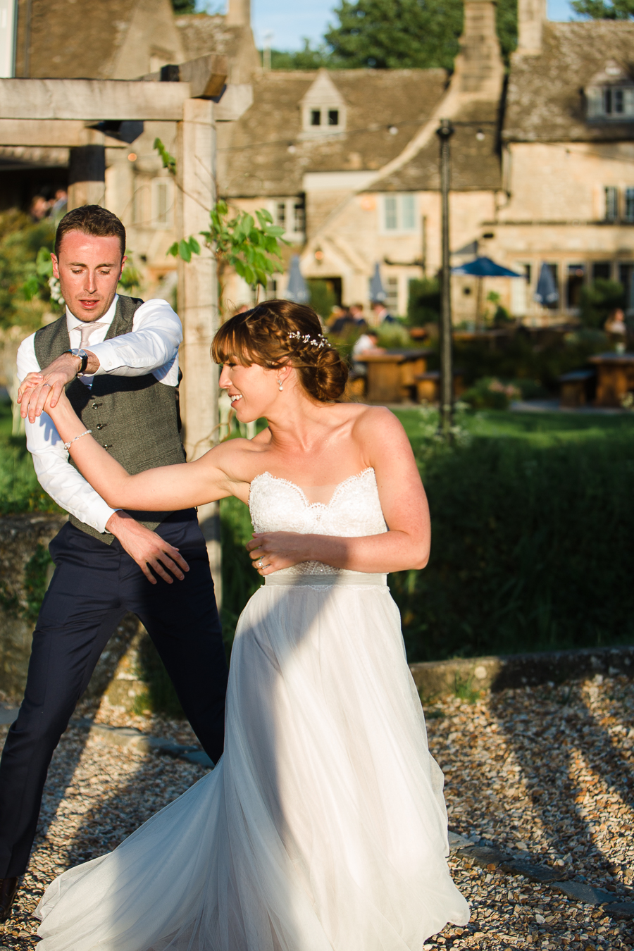 Katie & Laurie's elegant rustic Cotswolds wedding, with Red Maple Photography (39)