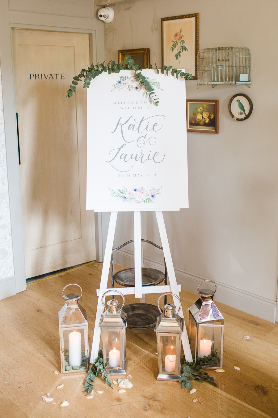 Katie & Laurie's elegant rustic Cotswolds wedding, with Red Maple Photography (27)