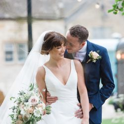 Katie & Laurie's elegant rustic Cotswolds wedding, with Red Maple Photography
