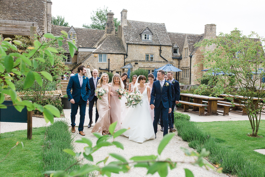 Katie & Laurie's elegant rustic Cotswolds wedding, with Red Maple Photography (20)