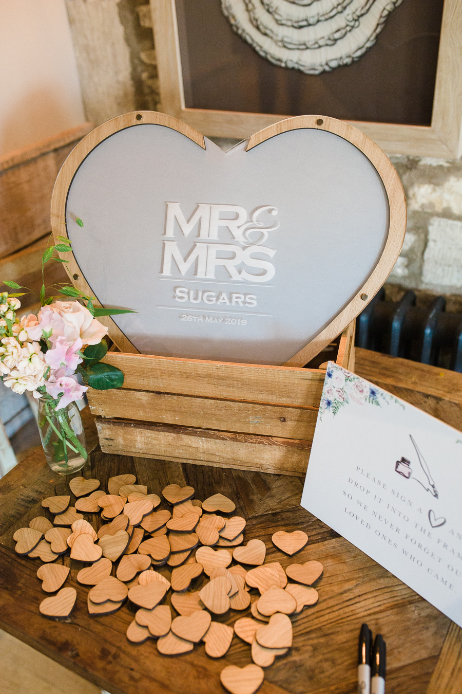 Katie & Laurie's elegant rustic Cotswolds wedding, with Red Maple Photography (17)