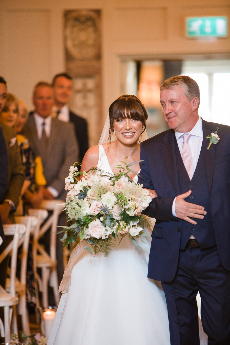 Katie & Laurie's elegant rustic Cotswolds wedding, with Red Maple Photography (15)
