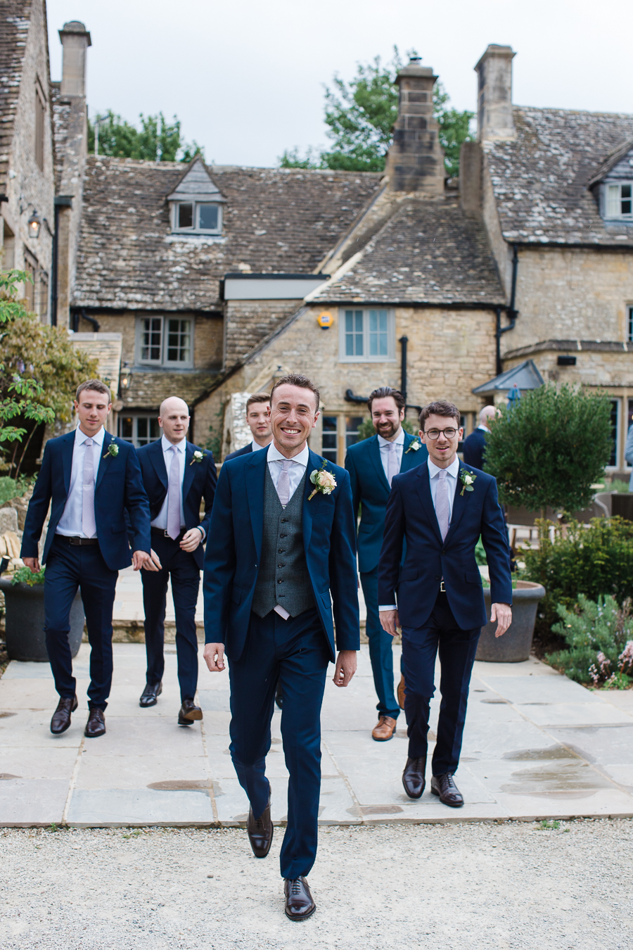 Katie & Laurie's elegant rustic Cotswolds wedding, with Red Maple Photography (4)
