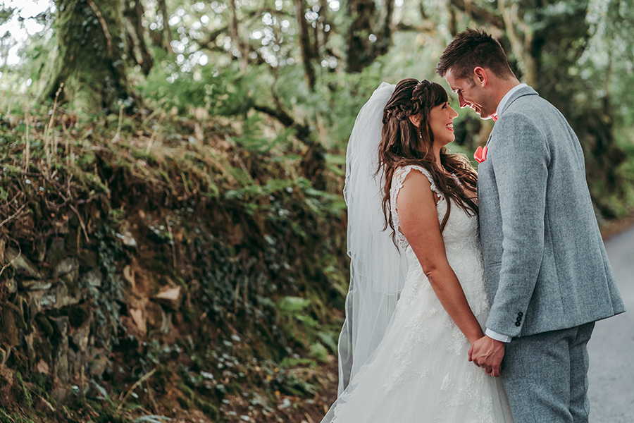 Philip and Chrissy's elegant rustic Trevenna Barns wedding, with Tracey Warbey Photography (29)