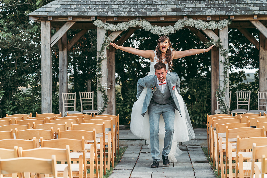Philip and Chrissy's elegant rustic Trevenna Barns wedding, with Tracey Warbey Photography (31)
