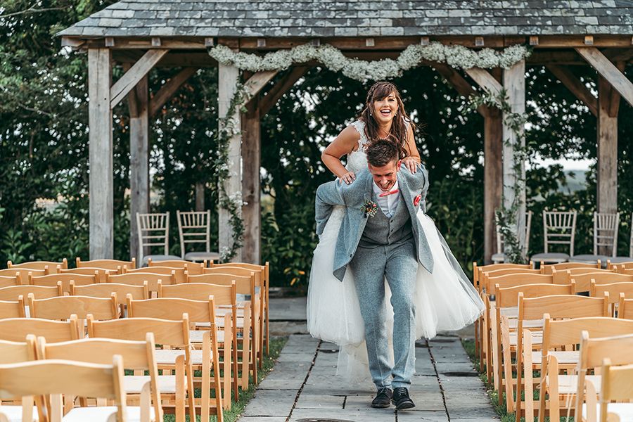 Philip and Chrissy's elegant rustic Trevenna Barns wedding, with Tracey Warbey Photography (32)