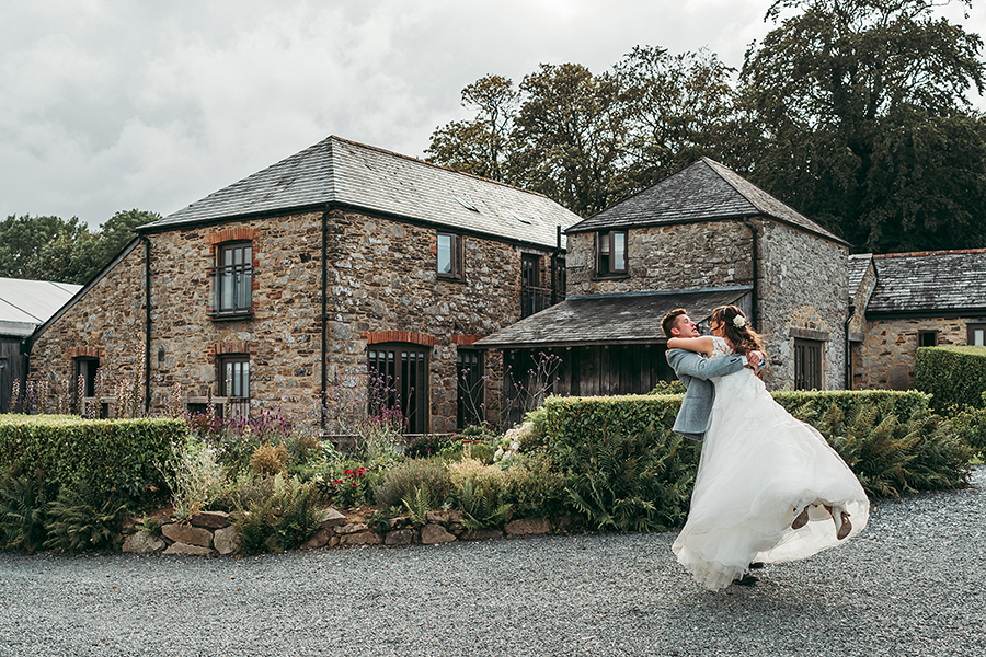 Philip and Chrissy's elegant rustic Trevenna Barns wedding, with Tracey Warbey Photography (33)